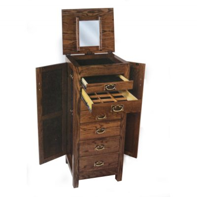 Flush Armoire Open