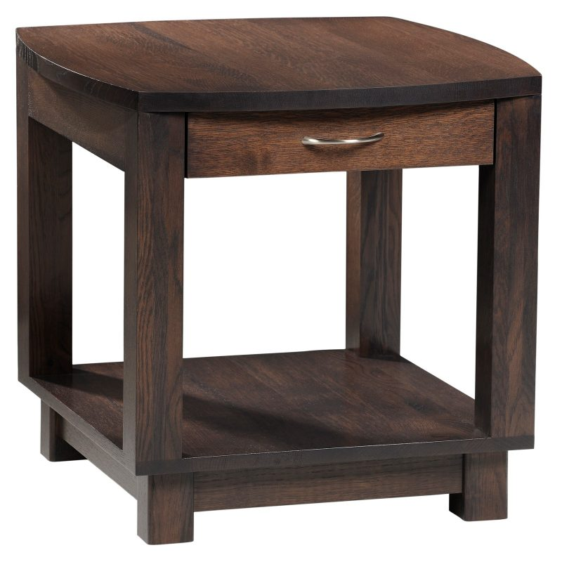 Urban Bow Top 502 End Table Closed