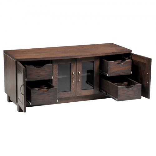 Urban Bow Top 520B TV Stand Open