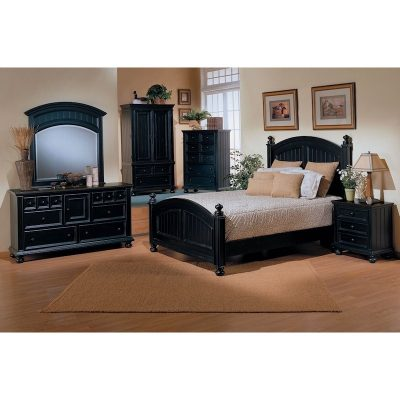 Winners Only Cape Cod Ebony Bedroom Collection