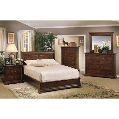 Winners Only Classic Cherry Sleigh Bedroom Collection