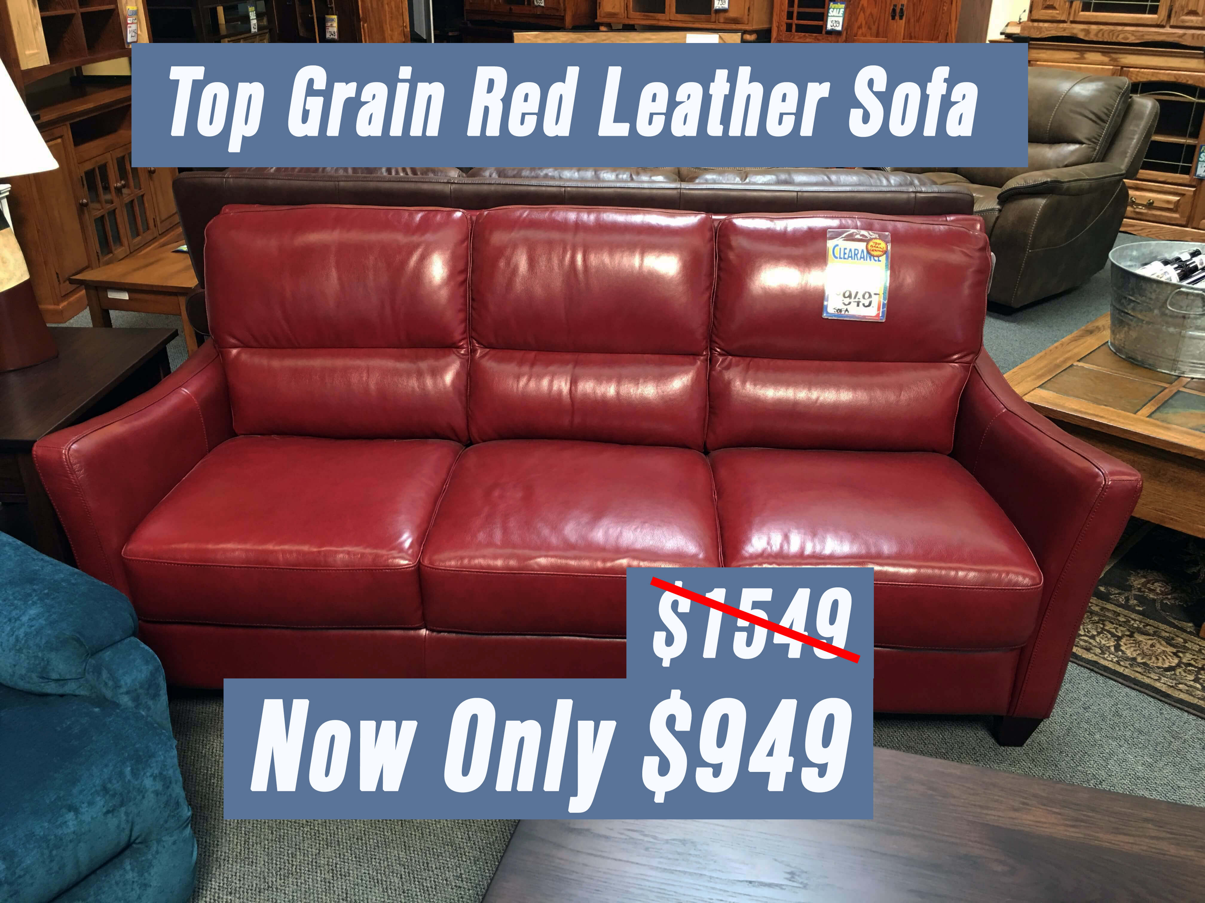 Top Grain Leather Sofa Clearance Images