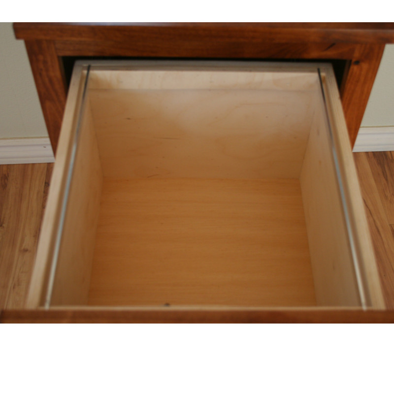 Alder Rustic Inside Drawer