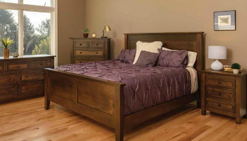 Trend Manor African Cherry Bedroom Set